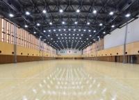 学園】金井学園体育館 竣工落成...